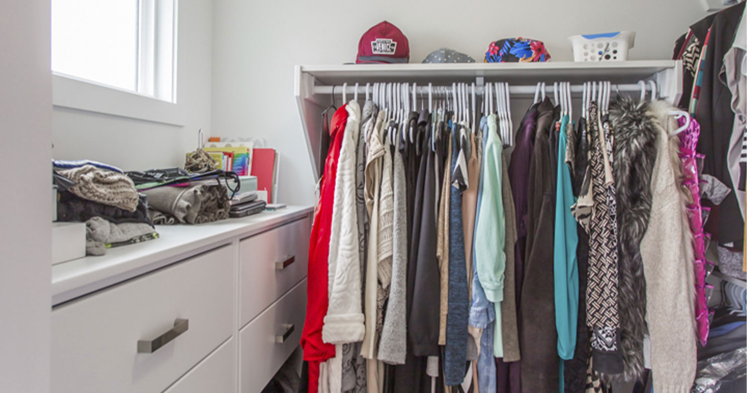 KonMari Closets for Your Custom Home