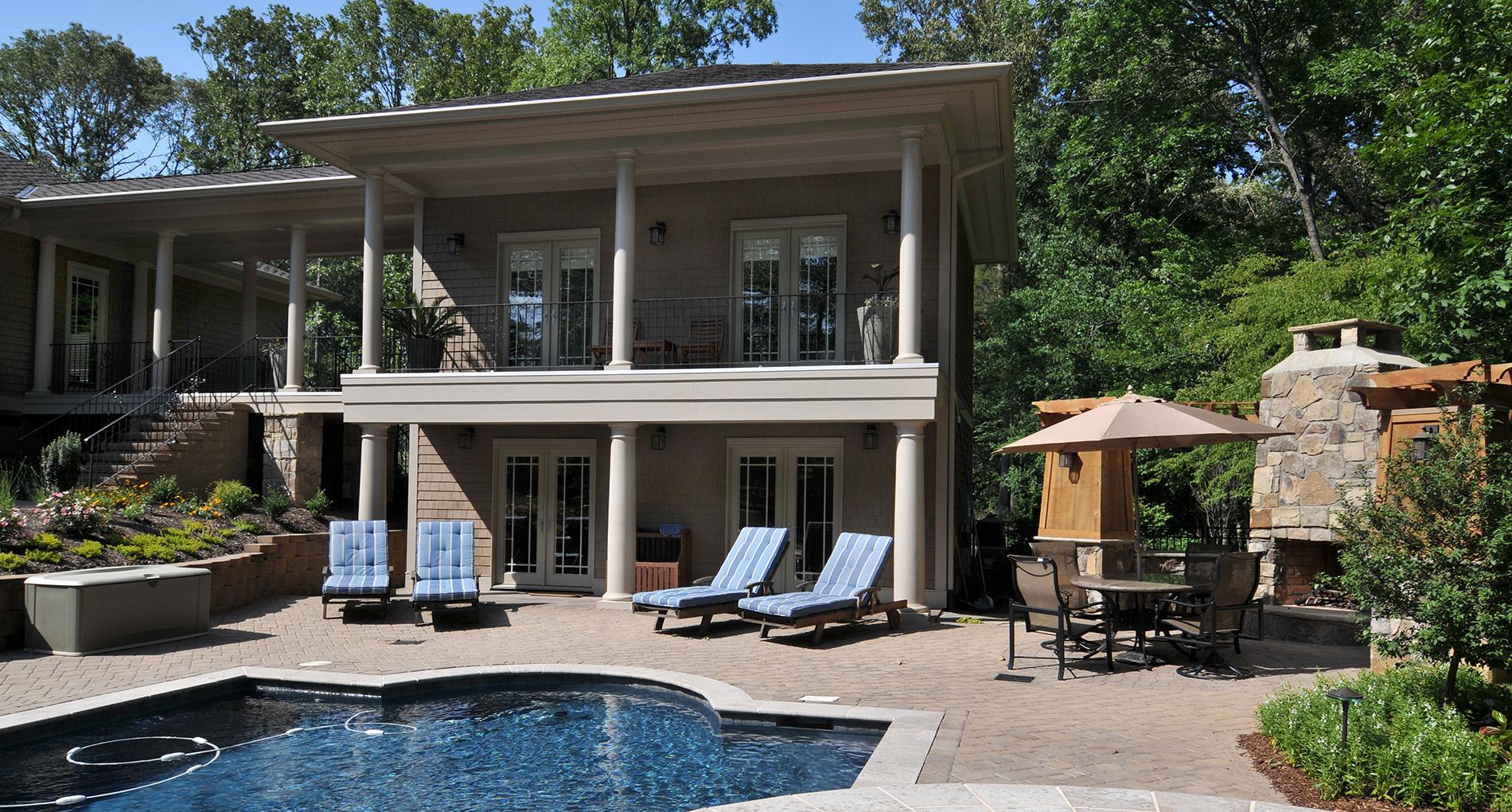 Weddington Pool House