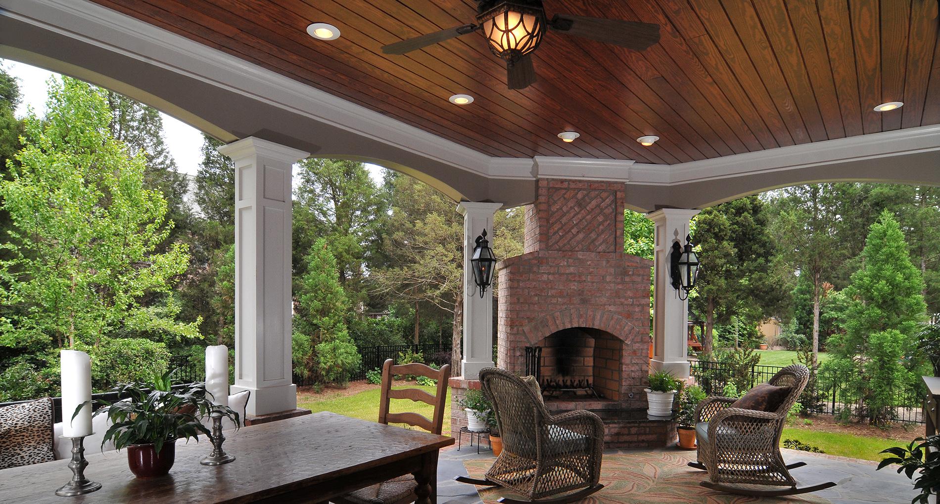 Oakland Elegant Covered Porch