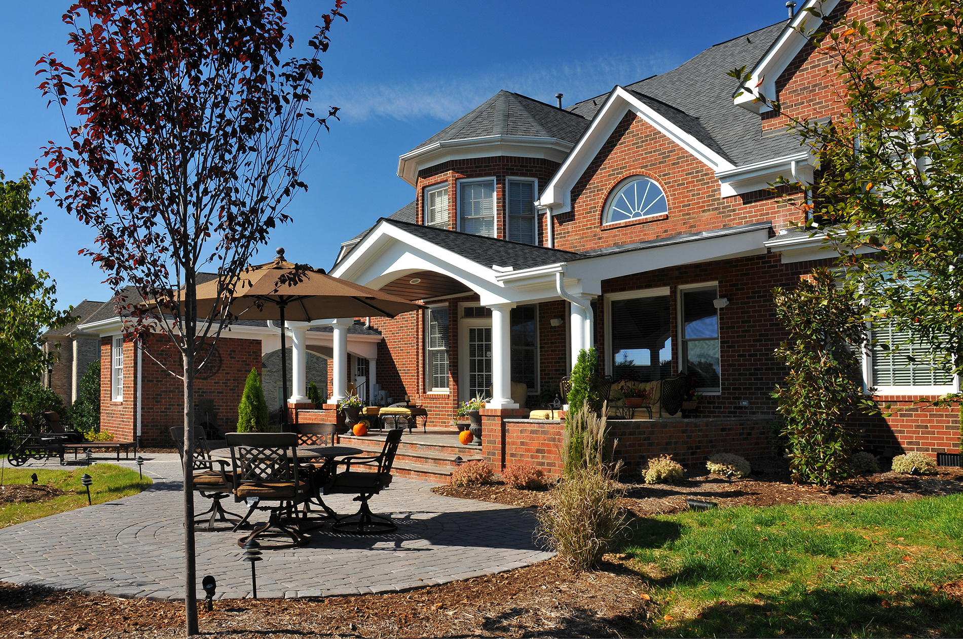 Mast Complete Outdoor Living Area   Alair Homes Lake Norman on Complete Outdoor Living id=43553