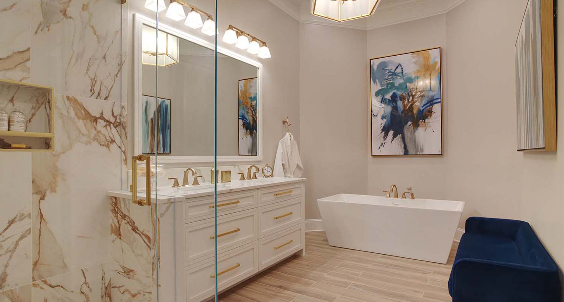 Luxury Lake Bathrooms