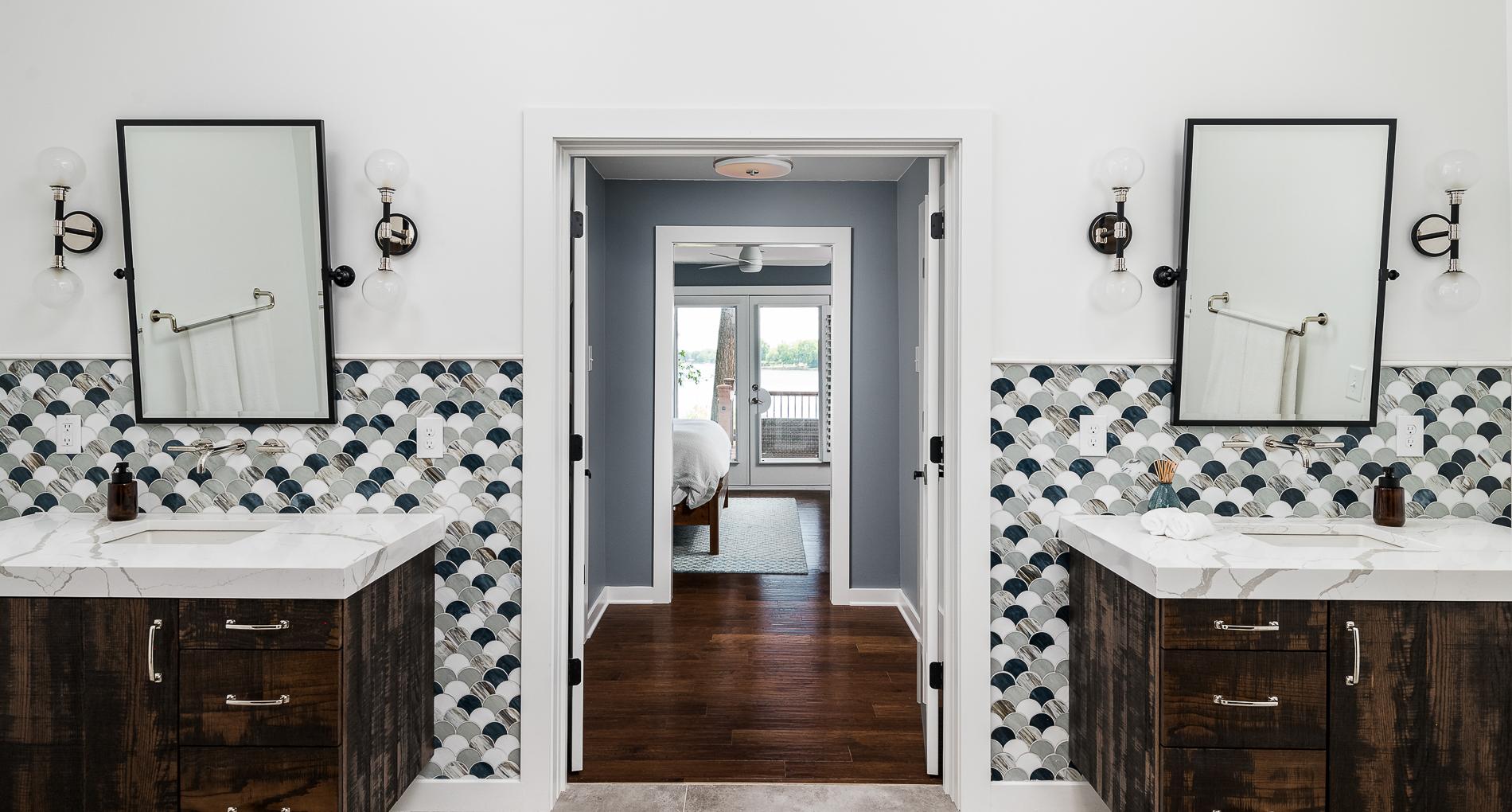 Cornelius Lakehouse Bathroom Remodel