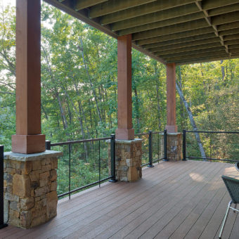 Custom Home Clemson Modernlakehome Outdoorliving3