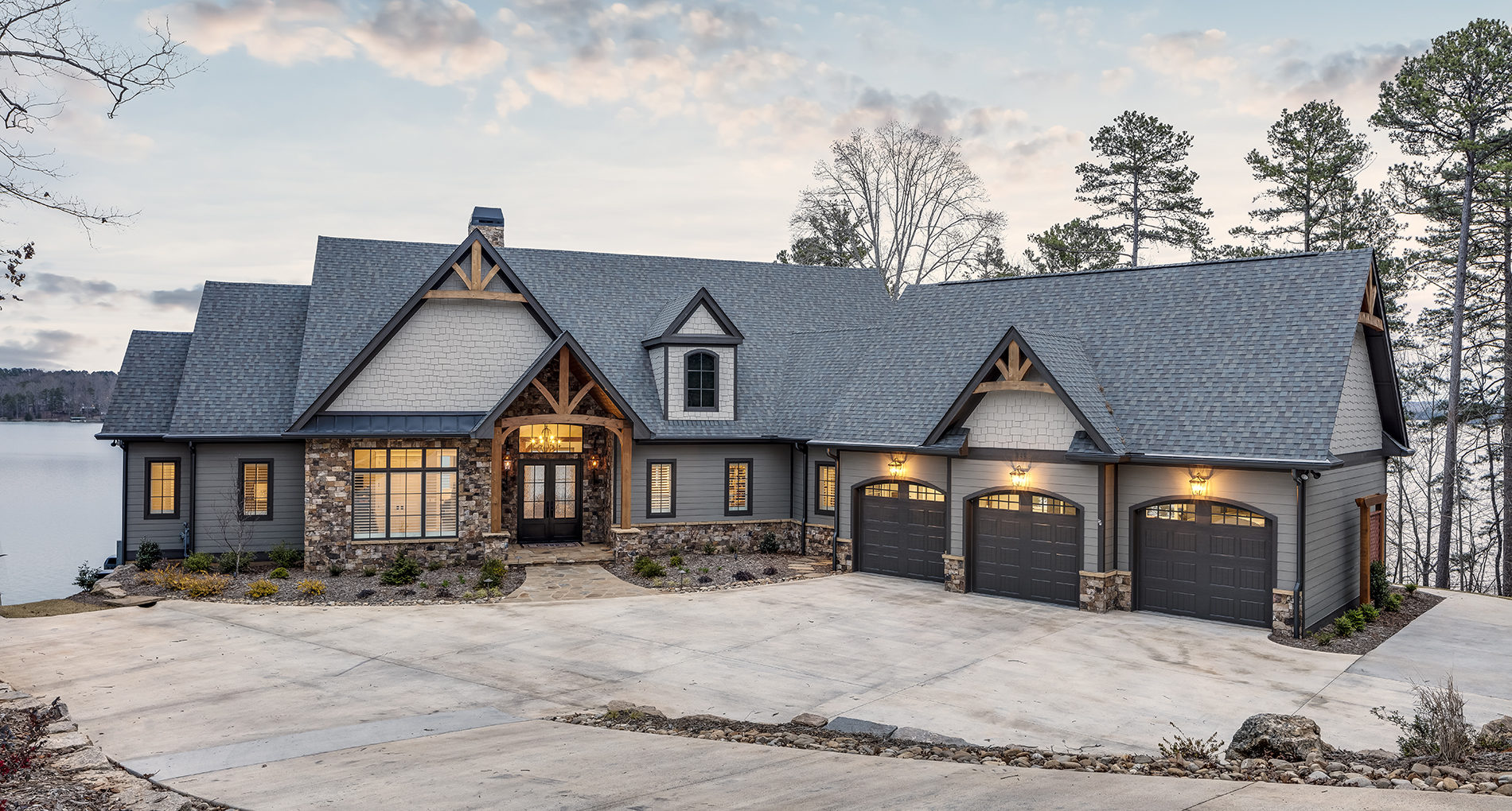 Custom Home Clemson Classiclakehouse Sliders4