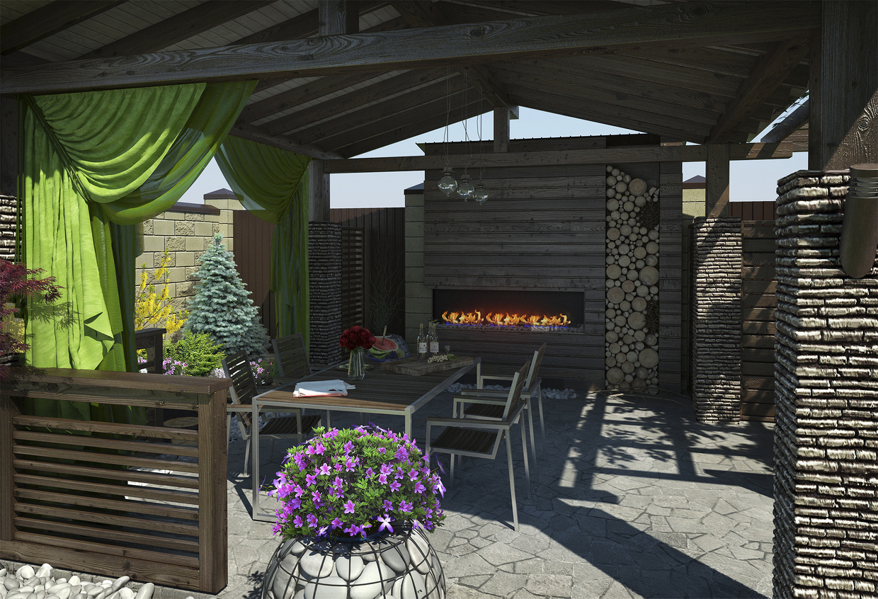 Remodel with Outdoor Fall Living in Mind