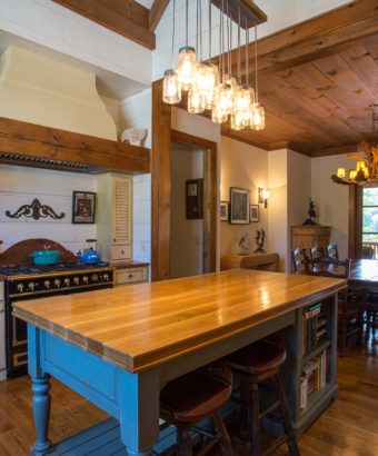 Custom Home Celmson Rusticlake Kitchen1