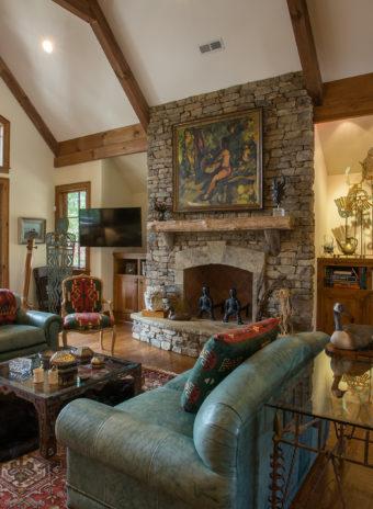 Custom Home Celmson Rusticlake Livingroom2