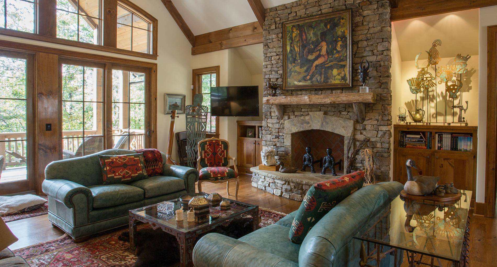 Rustic Lake Custom Home