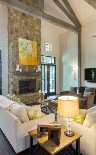 Custom Home Celmson Stoneyfishlodge Livingroom1