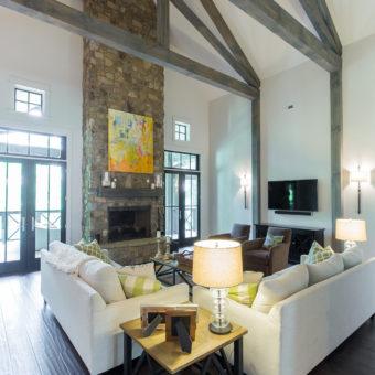 Custom Home Celmson Stoneyfishlodge Livingroom2