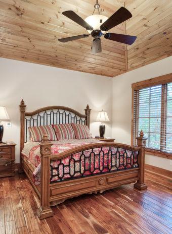 Custom Home Clemson Warpathlodge Bedroom1