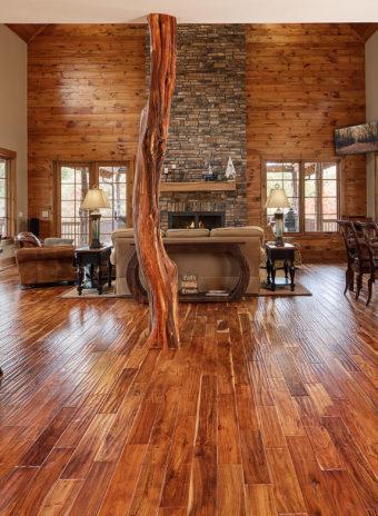 Custom Home Clemson Warpathlodge Livingroom1
