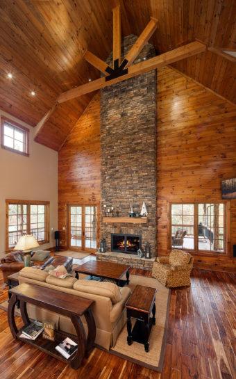 Custom Home Clemson Warpathlodge Livingroom2