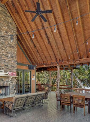 Custom Home Clemson Warpathlodge Porch2
