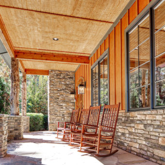 Custom Home Clemson Warpathlodge Porch5