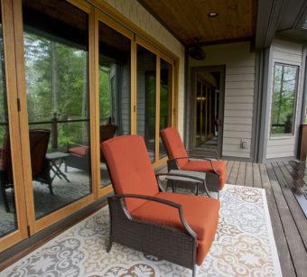 Custom Home Clemson Briargate Balcony3