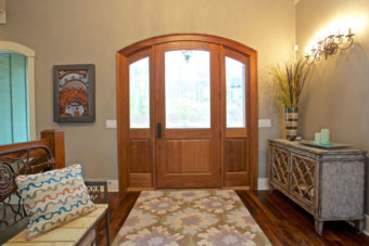Custom Home Clemson Briargate Entry1