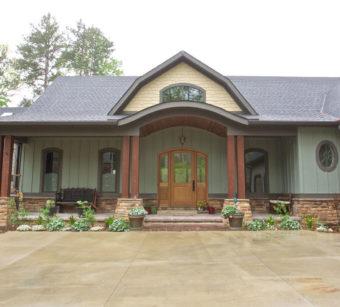 Custom Home Clemson Briargate Exterior6