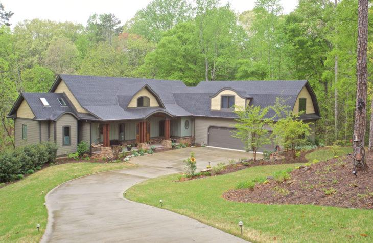 Custom Home Clemson Briargate Exterior13