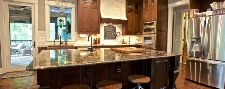Custom Home Clemson Briargate Kitchen10