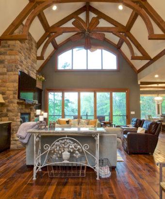 Custom Home Clemson Briargate Livingroom1