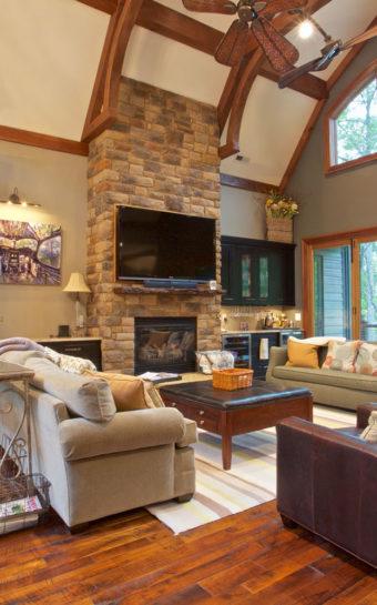 Custom Home Clemson Briargate Livingroom5