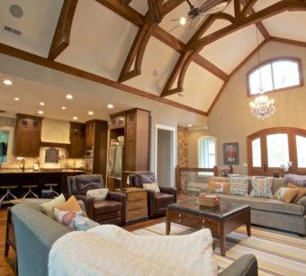 Custom Home Clemson Briargate Livingroom6