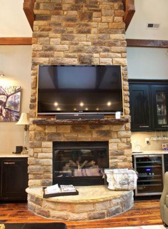 Custom Home Clemson Briargate Livingroom7