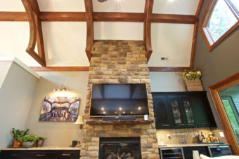 Custom Home Clemson Briargate Livingroom8