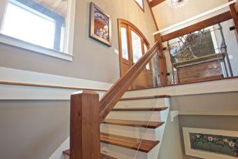 Custom Home Clemson Briargate Stairs2