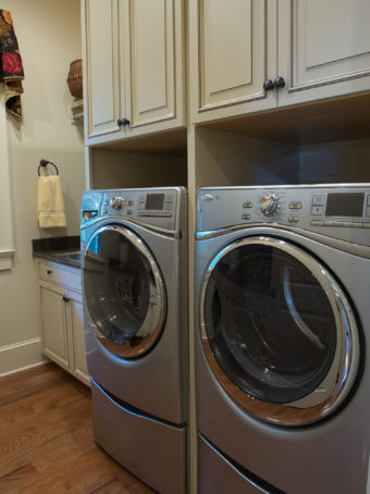 Custom Home Clemson Traditionallakehouse Laundryroom1