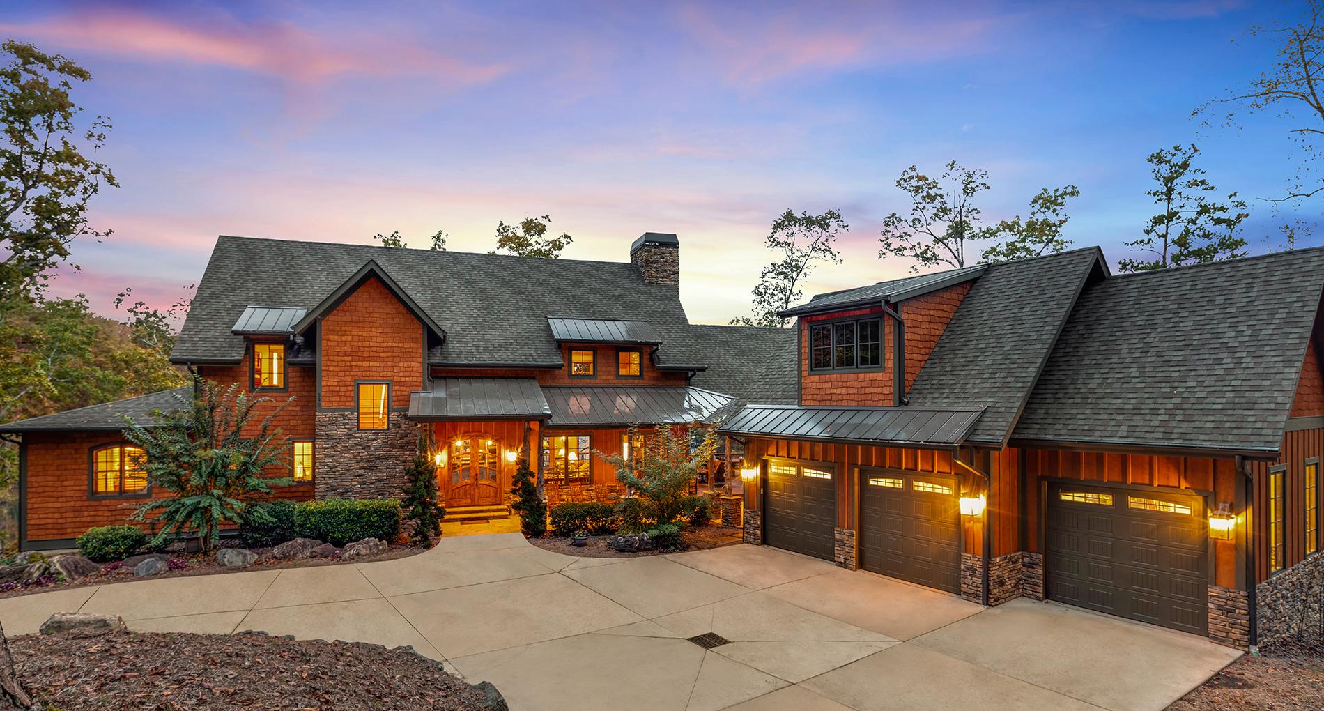 Warpath Lodge Custom Home