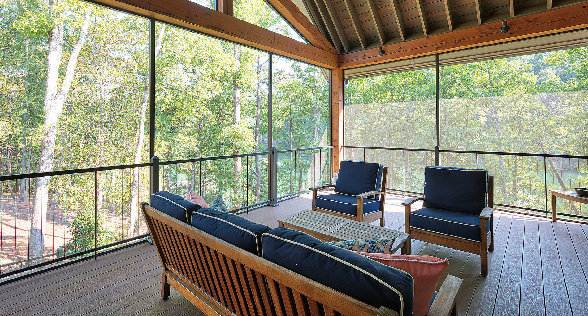 Sunroom Deck Custom Clemson Home