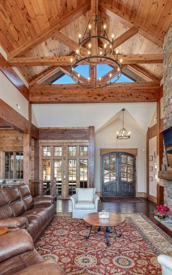 Custom Home Clemson Casalago Livingroom1