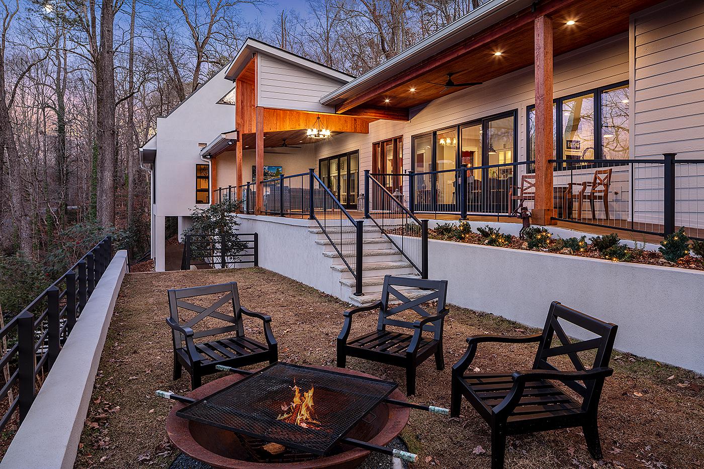 Modern Lake Custom Home