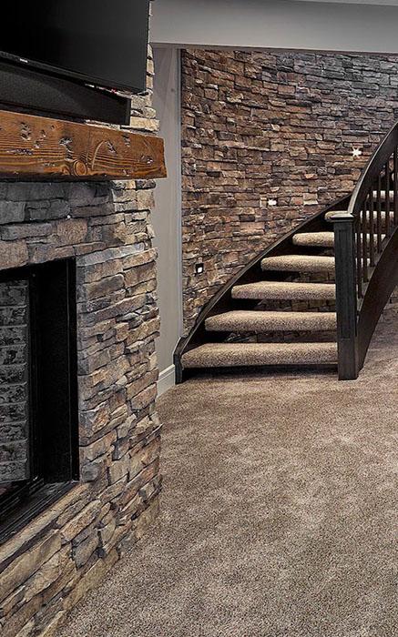 basement renovation Hickory Scondale Service Tile
