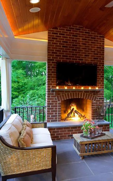 outdoor living Hickory Shillington Service Tile