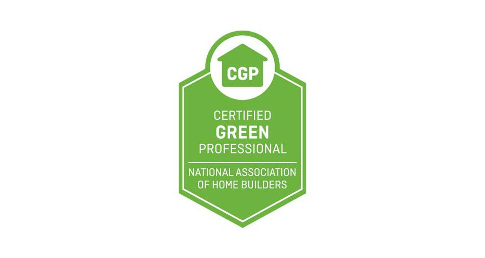 NATIONAL ASSOCIATION OF HOME BUILDERS Certified Green Professional CGP