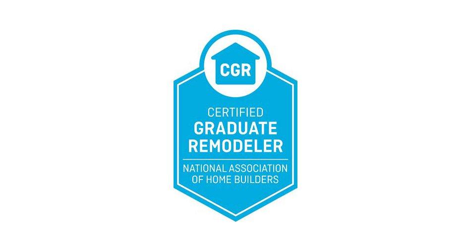 NATIONAL ASSOCIATION OF HOME BUILDERS Certified Graduate Remodeler CGR