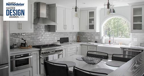 2021 Qualified Remodeler Master Design Bronze Award