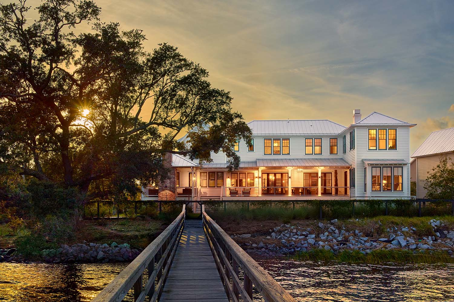 Waterfront on the Wando River