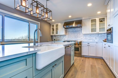 Treat Your Custom Home Kitchen to Color