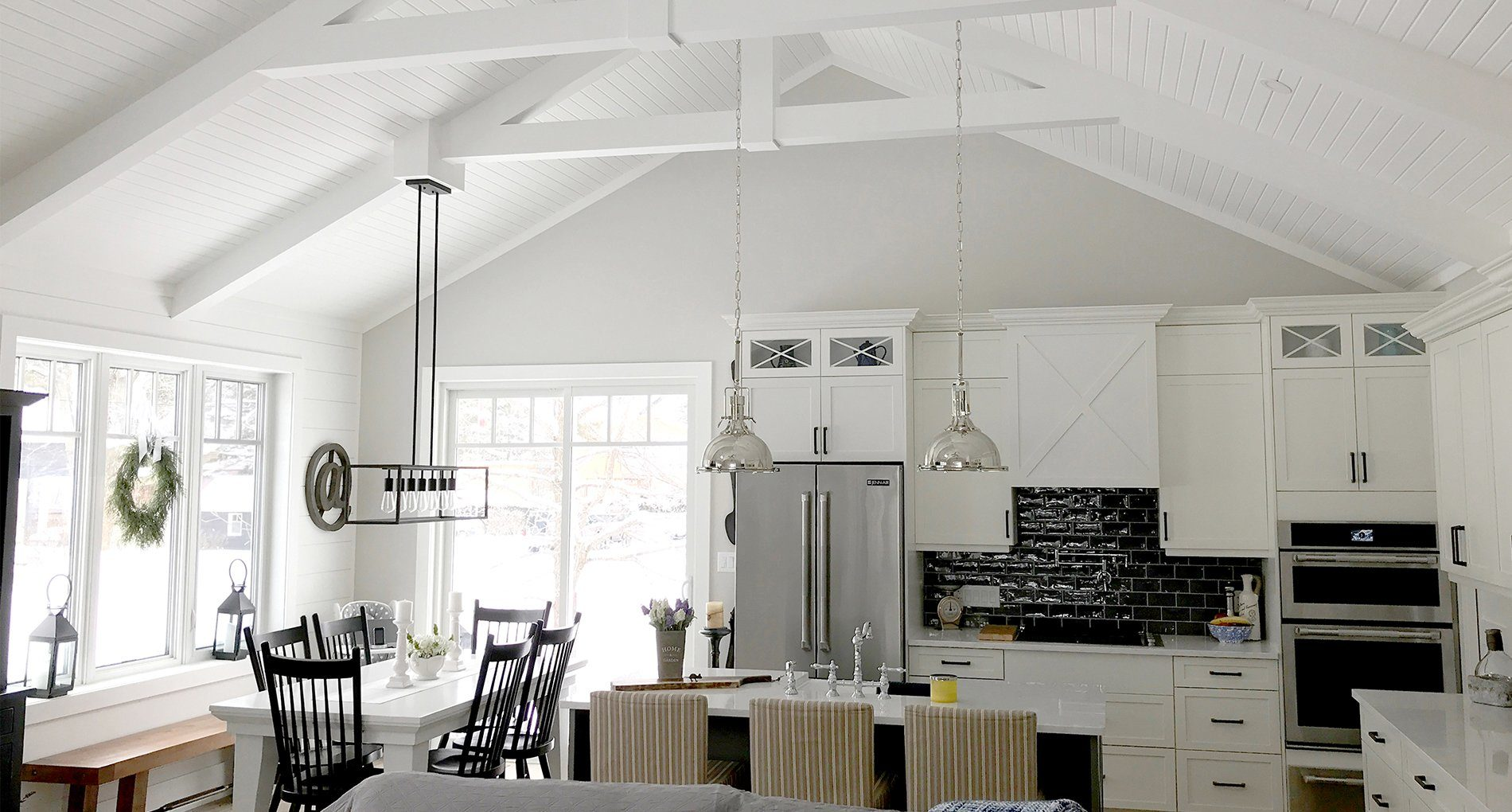 Cobblestone Custom Home Collingwood Kitchen