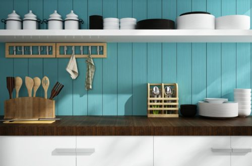 Open Shelving Ideas For Your Custom Kitchen