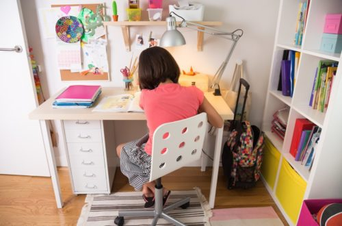 A Homework Space to Engage Young Minds