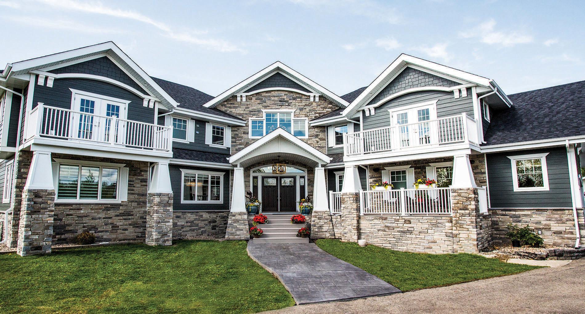 Custom Home Burlington Sunhill Slider