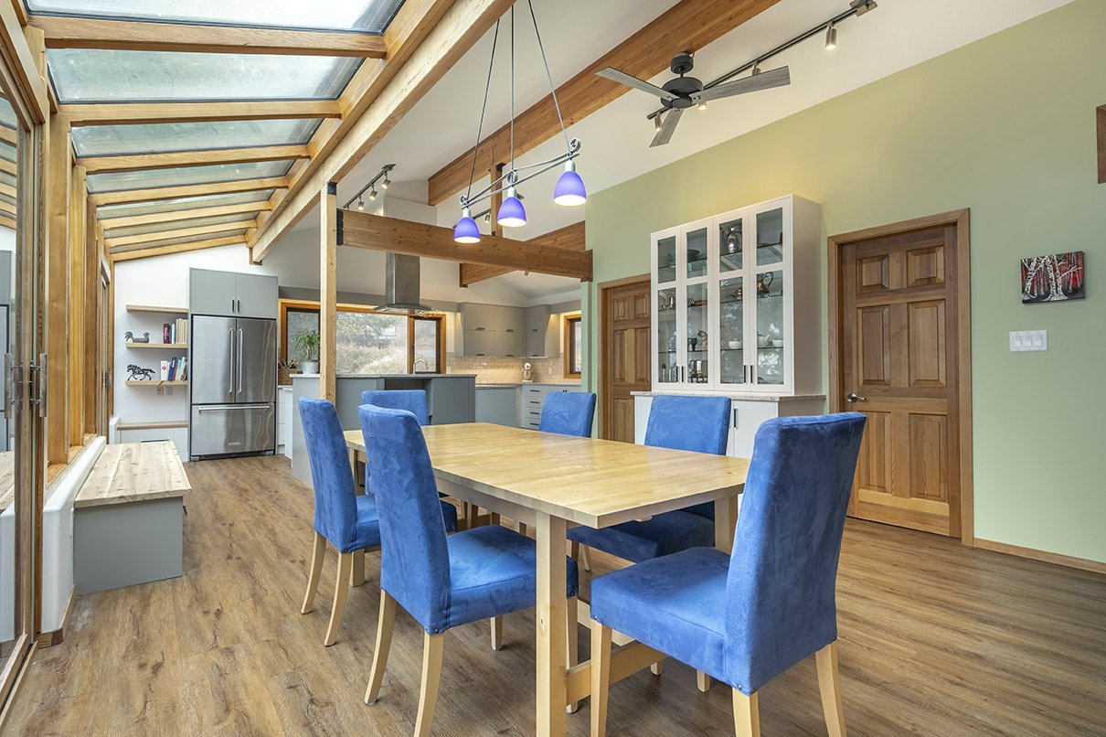 Blue Chairs Kelowna Kitchen