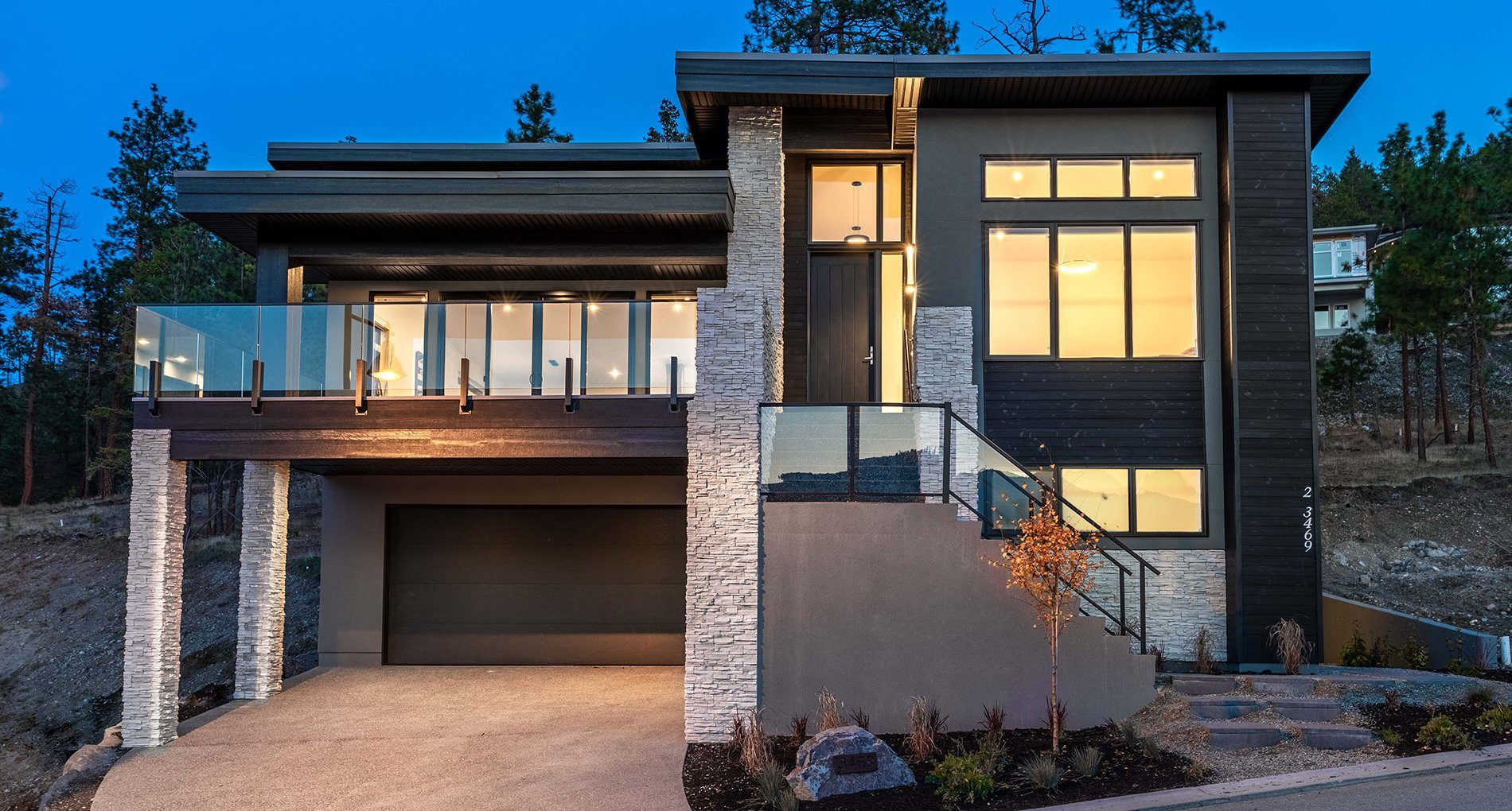 Shayler Custom Home Exterior