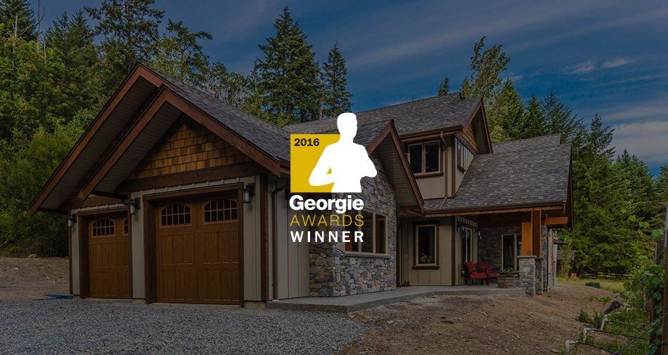 2016 BEST CUSTOM HOME VALUED UNDER $750,000 - GEORGIE AWARDS