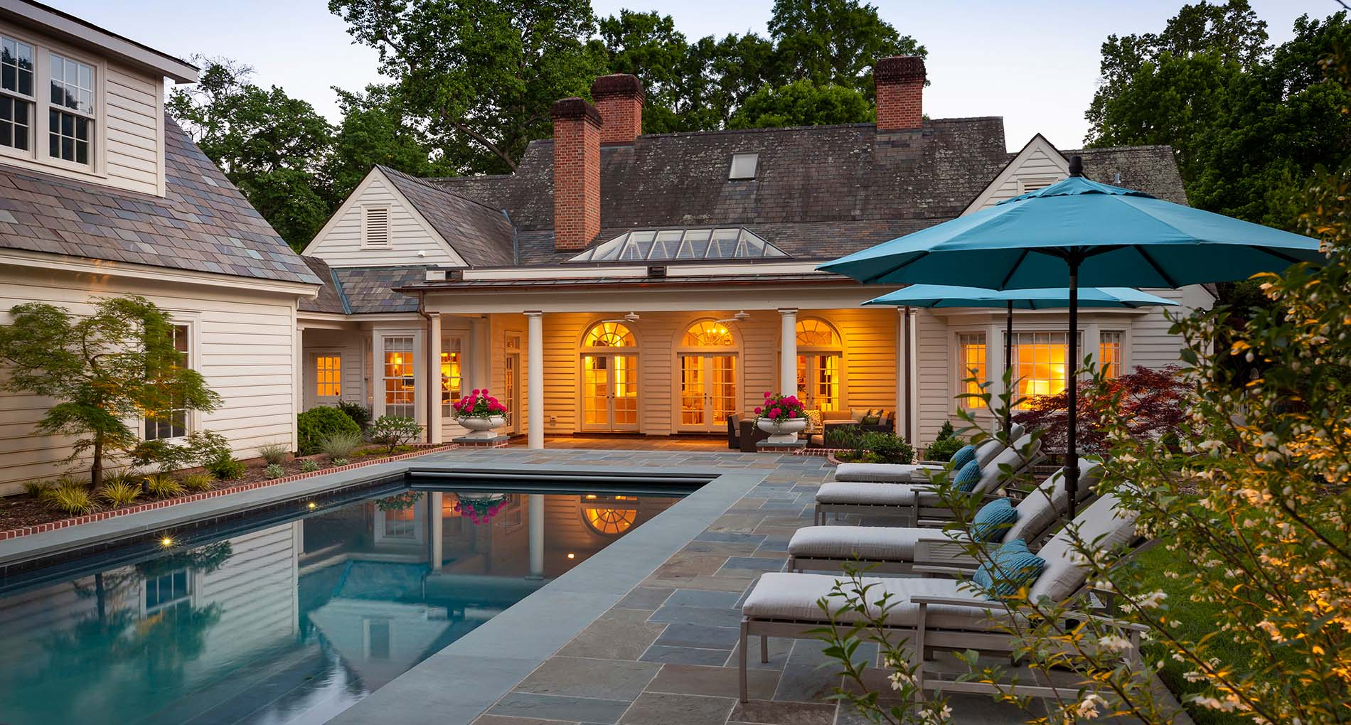 Poolside Inspired Outdoor Living